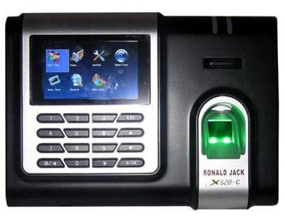 máy chấm công vân tay ronald jack x628c digiplus.vn