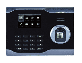 máy chấm công vân tay và thẻ ronald jack u160 digiplus.vn