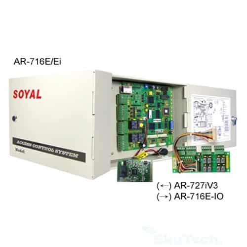 Bộ điều khiển kiểm soát trung tâm Soyal AR 716E