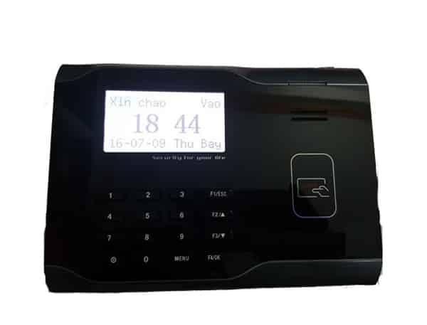 Máy chấm công và thẻ cảm ứng Mita 9000
