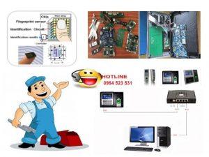 bảo trì máy chấm công bảo dưỡng máy chấm công digiplus.vn