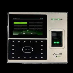 Máy chấm công và kiểm soát cửa bằng khuôn mặt ZKTeco uFace800