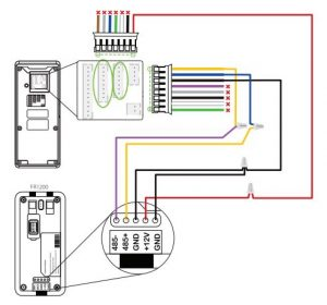 hướng dẫn đấu nối thiết bị kiểm soát cửa f18 bằng hình ảnh 2