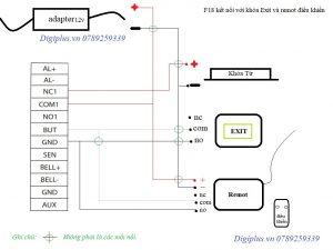 hướng dẫn đấu nối thiết bị kiểm soát cửa f18 bằng hình ảnh 4