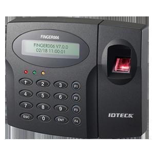Thiết bị chấm công và kiểm soát cửa ra vào IDTeck IP FINGER006