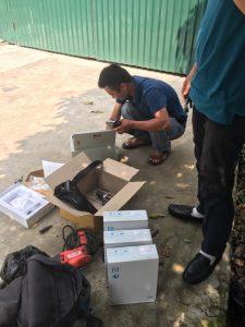 Digiplus lắp đặt máy chấm công tại Công ty EAGLE INDUSTRIES KCN Nguyên Khê Đông Anh 6