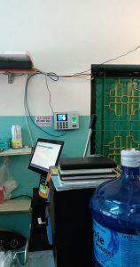 Digiplus thi lắp đặt máy chấm công tại hệ thống ăn vặt BIGBANG HOTFOOD TEA