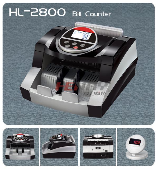 Máy đếm tiền cao cấp HL-2800 UV