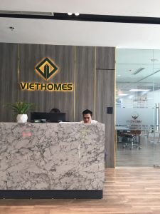 digiplus thi công máy chấm công vân tay tại Công ty cổ phần Địa Ốc VietHomes 1