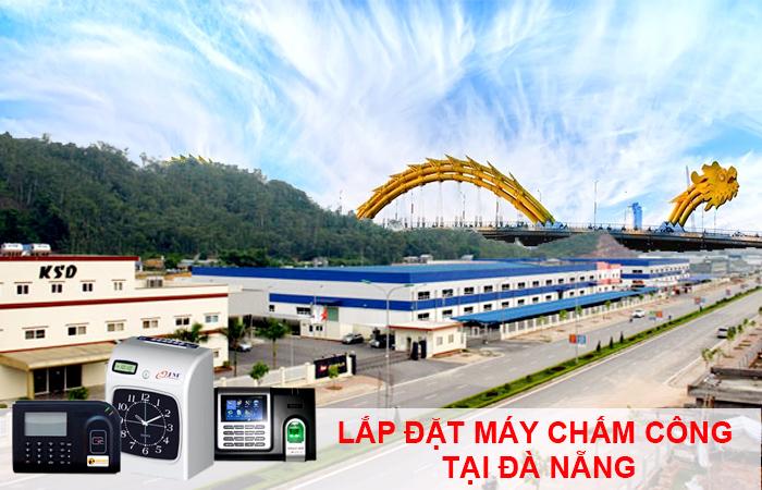 Lắp đặt máy chấm công giá rẻ tại Đà Nẵng