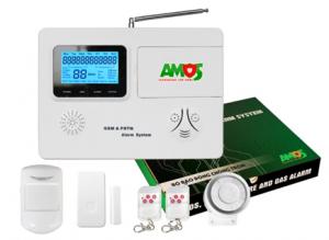 Thiết bị báo trộm thông minh không dây dùng Sim AM-GSM74