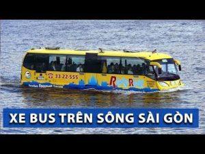 Lắp đặt cổng xoay ba càng tại tuyến xe bus trên sông sài gòn