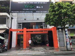 Triển khai lắp đặt Cổng xoay 3 càng tại PHÒNG TẬP GYM & YOGA YAP