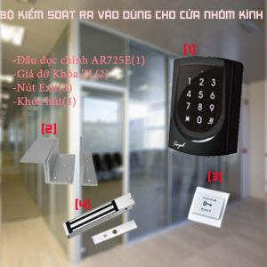 Hệ thống kiểm soát cửa ra vào cho văn phòng nhà cho thuê Soyal 725E DIGIPLUS.VN
