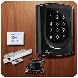 Hệ thống kiểm soát cửa ra vào cho văn phòng nhà cho thuê Soyal 725E