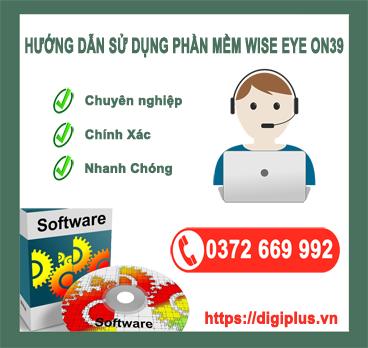 phần mềm chấm công wise eye on39